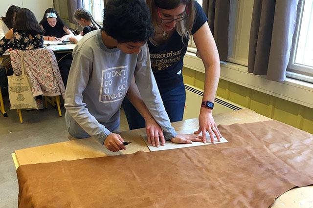 Atelier Reliure Avec Les 5eme Lycee Francais Rene Cassin Oslo